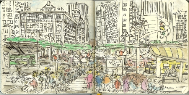 Market Street and Embarcredero, San Francisco, CA 001