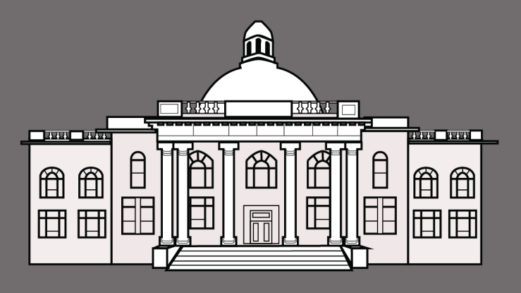 Design of Courthouse Gray